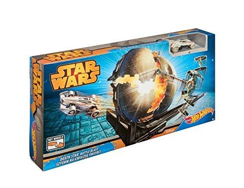 ホットウィール マテル ミニカー ホットウイール CGN48 【送料無料】Hot Wheels Star Wars Death Star Battle Blast Track Setホットウィール マテル ミニカー ホットウイール CGN48