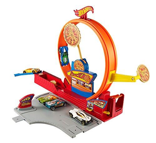 ホットウィール マテル ミニカー ホットウイール BHP94 【送料無料】Hot Wheels Pizza City Track Setホットウィール マテル ミニカー ホットウイール BHP94