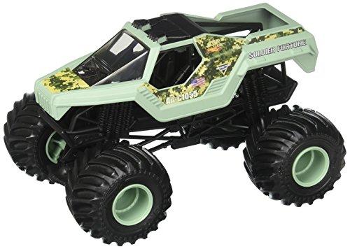 ホットウィール マテル ミニカー ホットウイール DWN89 【送料無料】Hot Wheels Monster Jam Soldier Fortune Vehicle, 1:24 Scaleホットウィール マテル ミニカー ホットウイール DWN89