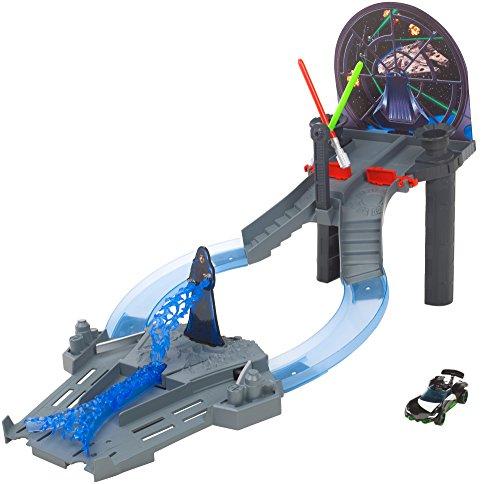ホットウィール マテル ミニカー ホットウイール CGN44 Hot Wheels Star Wars Throne Room Raceway Track Setホットウィール マテル ミニカー ホットウイール CGN44
