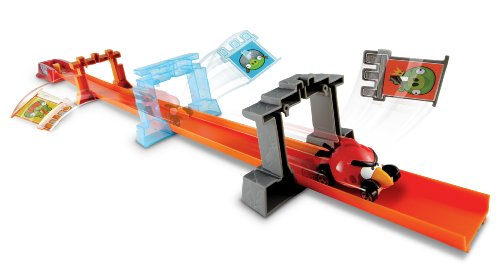 ホットウィール マテル ミニカー ホットウイール Y2410 【送料無料】Mattel Hot Wheels Angry Birds Track Setホットウィール マテル ミニカー ホットウイール Y2410