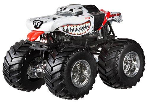 ホットウィール マテル ミニカー ホットウイール BGH28 Hot Wheels Monster Jam Monster Mutt Dalmatian Die-Cast Vehicle, 1:24 Scaleホットウィール マテル ミニカー ホットウイール BGH28