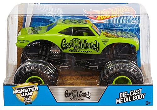 ホットウィール マテル ミニカー ホットウイール DWN87 【送料無料】Hot Wheels Monster Jam Gas Monkey Vehicleホットウィール マテル ミニカー ホットウイール DWN87