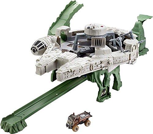 ホットウィール マテル ミニカー ホットウイール DWM85 Hot Wheels Star Wars Millennium Falcon Playsetホットウィール マテル ミニカー ホットウイール DWM85