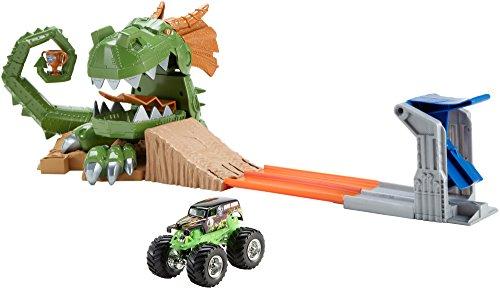 ホットウィール マテル ミニカー ホットウイール CCP74 【送料無料】Hot Wheels Monster Jam Dragon Arena Attack Playsetホットウィール マテル ミニカー ホットウイール CCP74