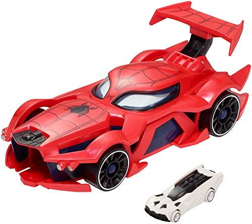 ホットウィール マテル ミニカー ホットウイール FDM61 【送料無料】Hot Wheels Marvel Spider-Man Web Car Launch [Amazon Exclusive]ホットウィール マテル ミニカー ホットウイール FDM61