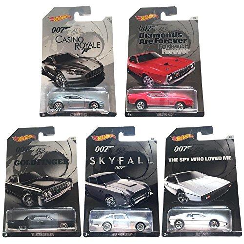 ホットウィール マテル ミニカー ホットウイール 349090 Hot Wheels 2015 exclusive James Bond 007 collection bundle of 5 diecast carsホットウィール マテル ミニカー ホットウイール 349090