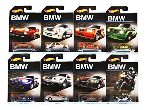 ホットウィール マテル ミニカー ホットウイール 2016 Hot Wheels BMW 100th Anniversary Exclusive Series - Complete Set of 8!ホットウィール マテル ミニカー ホットウイール