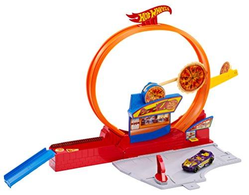 ホットウィール マテル ミニカー ホットウイール BGJ05 【送料無料】Hot Wheels Speedy Pizza Playsetホットウィール マテル ミニカー ホットウイール BGJ05