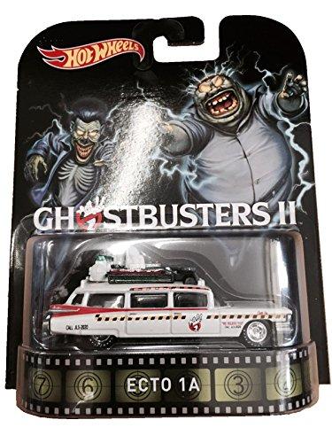ホットウィール マテル ミニカー ホットウイール Ghostbusters 2 Ecto-1A Hot Wheels 2015 Retro Series 1/64 Die Cast Vehicleホットウィール マテル ミニカー ホットウイール