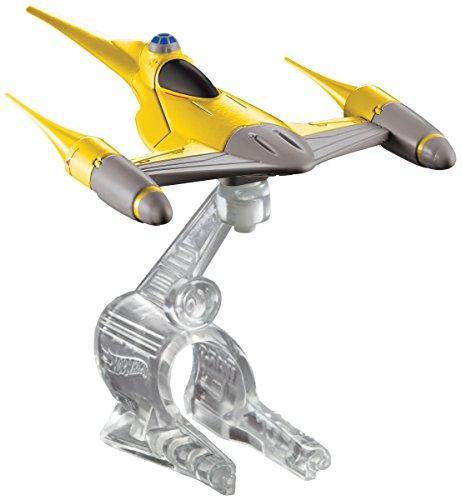 ホットウィール マテル ミニカー ホットウイール CGW70 【送料無料】Hot Wheels Star Wars Starship Naboo N1 Starfighter Vehicleホットウィール マテル ミニカー ホットウイール CGW70