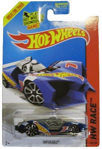 ホットウィール マテル ミニカー ホットウイール Hot Wheels 2014 Hw Race Team Blue Imparable Racing Car 149/250ホットウィール マテル ミニカー ホットウイール