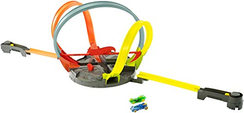 ホットウィール マテル ミニカー ホットウイール FDF26 【送料無料】Hot Wheels Roto Revolution Track Setホットウィール マテル ミニカー ホットウイール FDF26