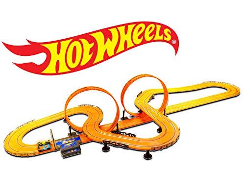 ホットウィール マテル ミニカー ホットウイール 【送料無料】Hot Wheels Slot Car Track Set - Features 30 Feet of Trackホットウィール マテル ミニカー ホットウイール