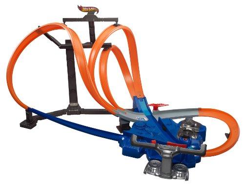 ホットウィール マテル ミニカー ホットウイール X9286 Hot Wheels Triple Track Twister Track Setホットウィール マテル ミニカー ホットウイール X9286