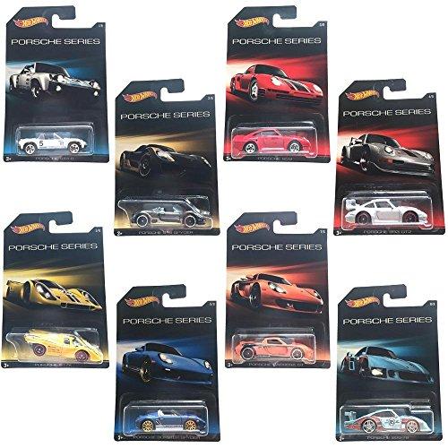 ホットウィール マテル ミニカー ホットウイール CGB63 Hot Wheels Porsche Series Exclusive 8 Car Setホットウィール マテル ミニカー ホットウイール CGB63
