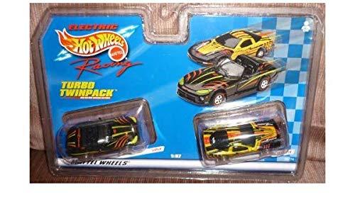 ホットウィール マテル ミニカー ホットウイール Hot Wheels #96774 Electric Racing Turbo Twinpack,Viper and Corvette 1/87 Scale Slot Carsホットウィール マテル ミニカー ホットウイール