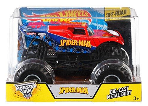 ホットウィール マテル ミニカー ホットウイール CHV10 Hot Wheels Monster Jam 1:24 Die-Cast Spider-Man Vehicleホットウィール マテル ミニカー ホットウイール CHV10