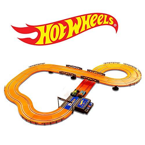 ホットウィール マテル ミニカー ホットウイール 【送料無料】Hot Wheels Battery Operated 12.4 ft. Slot Trackホットウィール マテル ミニカー ホットウイール