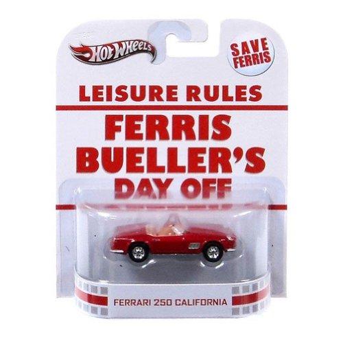 ホットウィール マテル ミニカー ホットウイール 【送料無料】Hot Wheels Retro Ferris Bueller's Day Off 1:55 Die Cast Car Ferrari 250 Californiaホットウィール マテル ミニカー ホットウイール