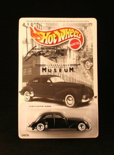 ホットウィール マテル ミニカー ホットウイール 24876 Hot Wheels Auburn Cord Dusenberg Museum Exclusive 1939 Cord S10 Sedan Car 1:64 Scaleホットウィール マテル ミニカー ホットウイール 24876