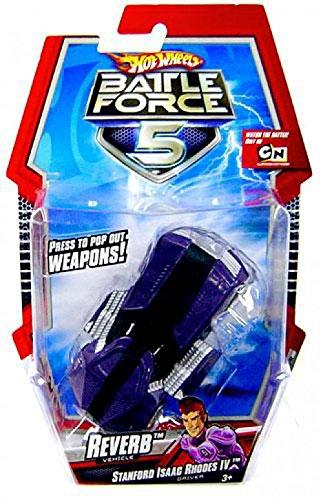 ホットウィール マテル ミニカー ホットウイール P2021 【送料無料】Hot Wheels Battle Force 5 1:43 Scale Mini Battle Car Reverbホットウィール マテル ミニカー ホットウイール P2021