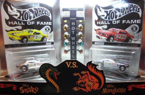ホットウィール マテル ミニカー ホットウイール 【送料無料】Hot Wheels RedLine Club Release Limited Edition Numbered 05506 of 10000 Hall Of Fame The Snake vs The Mongoose Tom McEwen Don Prudhomme Funnホットウィール マテル ミニカー ホットウイール
