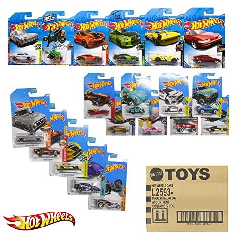 ホットウィール マテル ミニカー ホットウイール 【送料無料】Mattel Hot Wheels 72 Count Random Case Basic Die-Cast Toy Carsホットウィール マテル ミニカー ホットウイール