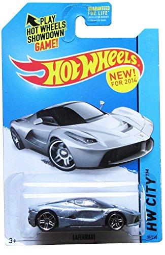 ホットウィール マテル ミニカー ホットウイール Hot Wheels 2014 Laferrari Silverホットウィール マテル ミニカー ホットウイール