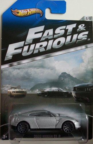 ホットウィール マテル ミニカー ホットウイール HOT WHEELS FAST & FURIOUS 2009 NISSAN GT-R (OFFICIAL MOVIE MERCHANDISE) 6/8ホットウィール マテル ミニカー ホットウイール