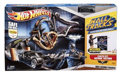 ホットウィール マテル ミニカー ホットウイール W6272 【送料無料】Hot Wheels Wall Tracks Batman The Dark Knight Rises Tracksetホットウィール マテル ミニカー ホットウイール W6272