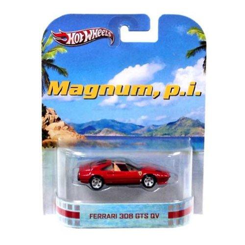 ホットウィール マテル ミニカー ホットウイール Hot Wheels Magnum, P.I. Ferrari 308 GTS QV Die Cast Carホットウィール マテル ミニカー ホットウイール