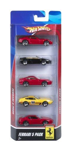 ホットウィール マテル ミニカー ホットウイール N0490 【送料無料】Hot Wheels Ferrari 5-Pack - Styles May Varyホットウィール マテル ミニカー ホットウイール N0490