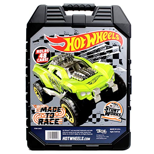 ホットウィール マテル ミニカー ホットウイール 20020 Hot Wheels 48- Car storage Case With Easy Grip Carrying Caseホットウィール マテル ミニカー ホットウイール 20020