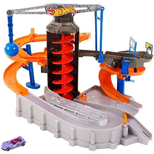 ホットウィール マテル ミニカー ホットウイール DPD88 【送料無料】Hot Wheels Mattel Construction Zone Chaos Track Setホットウィール マテル ミニカー ホットウイール DPD88