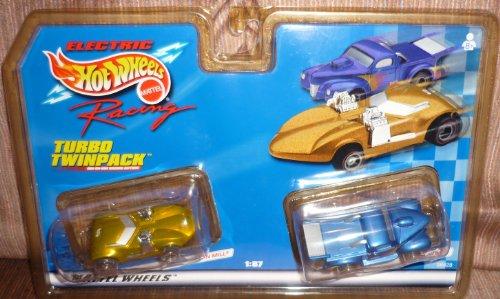 ホットウィール マテル ミニカー ホットウイール #96628 Hot Wheels Electric Racing Turbo Twinpack,Twin Mill and Custom Pickup 1/87 Scale Slot Carsホットウィール マテル ミニカー ホットウイール