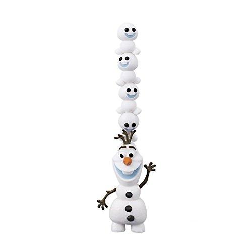 アナと雪の女王 アナ雪 ディズニープリンセス フローズン - Disney Frozen Chara Nose NOS-45 Olaf and Snowgies Figure Setアナと雪の女王 アナ雪 ディズニープリンセス フローズン -