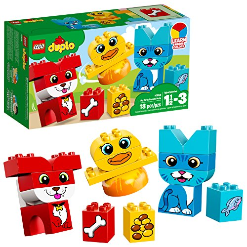 レゴ デュプロ 6212842 【送料無料】LEGO DUPLO My First Puzzle Pets 10858 Building Blocks (18 Pieces)レゴ デュプロ 6212842