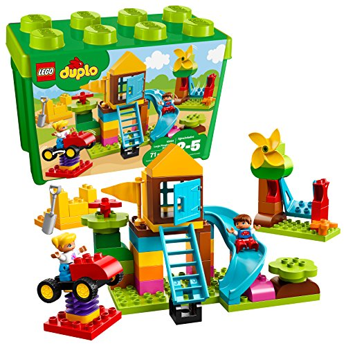 レゴ デュプロ 6213735 【送料無料】LEGO DUPLO Large Playground Brick Box 10864 Building Block (71 Pieces)レゴ デュプロ 6213735