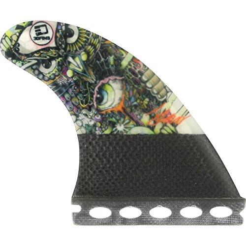 サーフィン フィン マリンスポーツ 3D Fins Josh Kerr Darkside Carbon Based 5.0 Futures Fin Systemサーフィン フィン マリンスポーツ