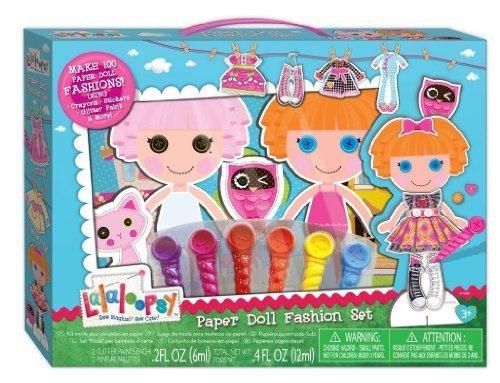 ララループシー 人形 ドール Lalaloopsy Paper Doll Fashion Set by Fashion Angels Enterprisesララループシー 人形 ドール