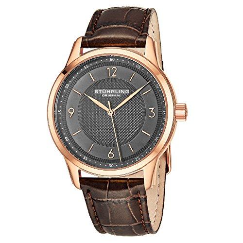 ストゥーリングオリジナル 腕時計 メンズ 572.04 Stuhrling Original Men's 572.04 Classique Analog Display Quartz Brown Watchストゥーリングオリジナル 腕時計 メンズ 572.04