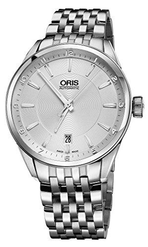 オリス 腕時計 メンズ 733-7713-4031-MB Oris Artix Date Silver Dial 39mm Men's Watch 73377134031MBオリス 腕時計 メンズ 733-7713-4031-MB