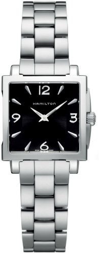 ハミルトン 腕時計 レディース H32251135 Hamilton Jazzmaster Square Women's Quartz Watch H32251135ハミルトン 腕時計 レディース H32251135