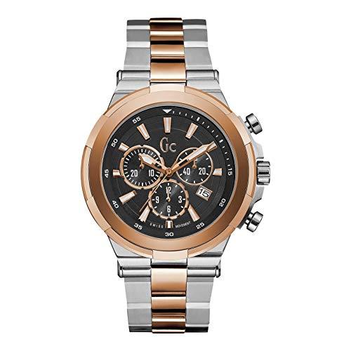 ゲス GUESS 腕時計 メンズ Y23003G2 【送料無料】GUESS Men's Gc Structure Rose Gold & Silver Timepieceゲス GUESS 腕時計 メンズ Y23003G2