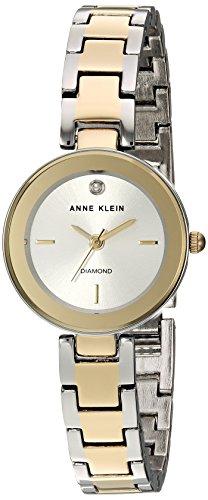 アンクライン 腕時計 レディース AK/3151SVTT Anne Klein Women's Diamond-Accented Two-Tone Bracelet Watchアンクライン 腕時計 レディース AK/3151SVTT