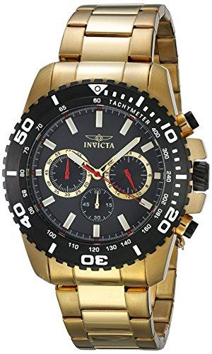 腕時計 インヴィクタ インビクタ プロダイバー メンズ 19846 【送料無料】Invicta Men's Pro Diver Quartz Watch with Stainless-Steel Strap, Gold, 24 (Model: 19846)腕時計 インヴィクタ インビクタ プロダイバー メンズ 19846