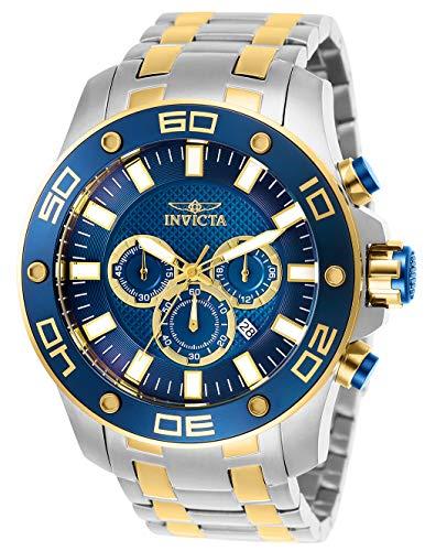 インヴィクタ インビクタ プロダイバー 腕時計 メンズ 26082 【送料無料】Invicta Men's Pro Diver Scuba Quartz Watch with Stainless Steel Strap, Two Tone, 30 (Model: 26082)インヴィクタ インビクタ プロダイバー 腕時計 メンズ 26082