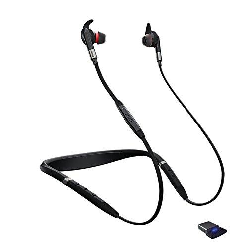 海外輸入ヘッドホン ヘッドフォン イヤホン 海外 輸入 7099-823-409 Jabra Evolve 75e UC Bluetooth Wireless in-Ear Earphones with Mic - Noise-Canceling海外輸入ヘッドホン ヘッドフォン イヤホン 海外 輸入 7099-823-409