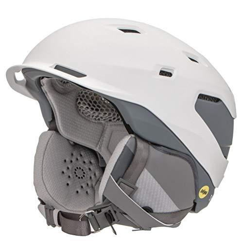 スノーボード ウィンタースポーツ 海外モデル ヨーロッパモデル アメリカモデル Smith Smith Quantum Men's Snow Helmet - Matte White Charcoal MIPS, Smallスノーボード ウィンタースポーツ 海外モデル ヨーロッパモデル アメリカモデル Smith